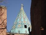Holy shrine-Conical turquoiseroof