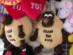 Shaun the dog-sheepdog ofcourse!