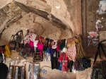 Souvenirs for sale in the very old remains of the pre-Islamic FireTemple