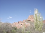 Abyaneh from the car park