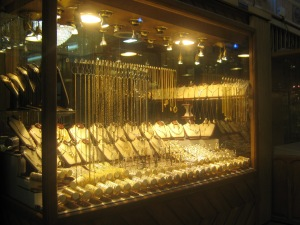 The gold quarter