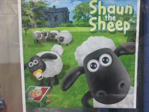 Even Shaun the Sheep is big in Iran!