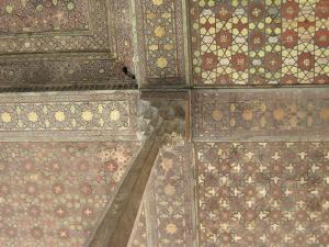 Ali Qapu verandah painted ceiling