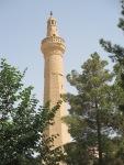 Octagonal minaret